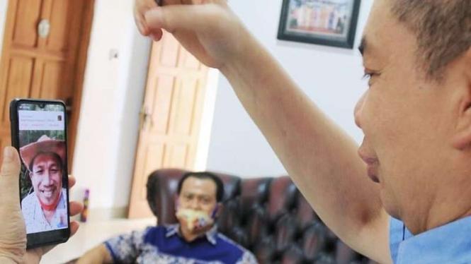 Saling dukung ke calon Gubernur Kalimantan Tengah