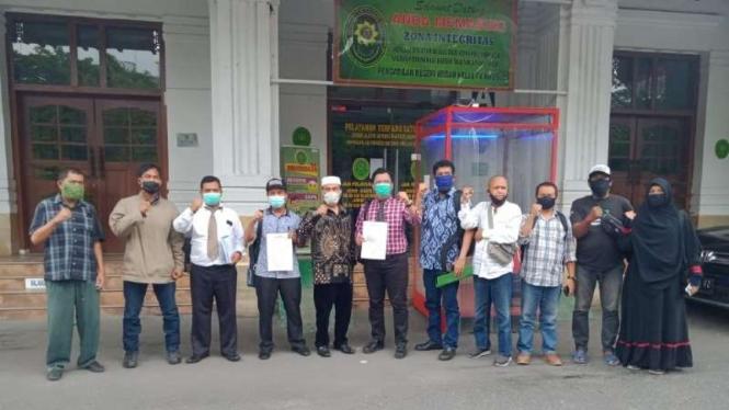 GNPF Sumut gugat Pilwalkot Medan