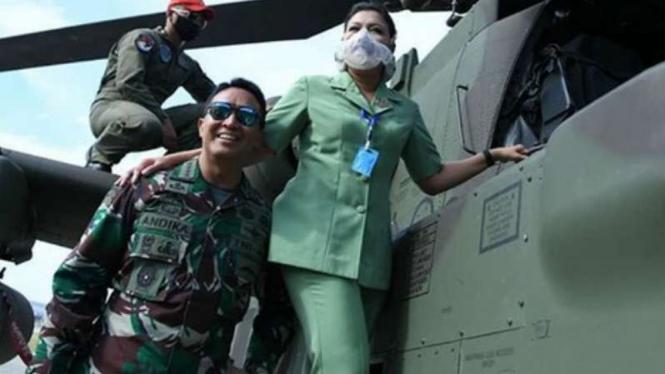 VIVA Militer: Hetty dan suaminya, Jenderal TNI Andika.