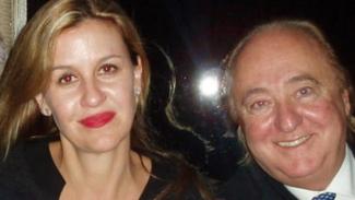Patricia Gucci dan mantan suaminya Joseph Ruffalo
