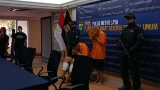 Polda Metro Jaya menangkap dua pelaku mutilasi