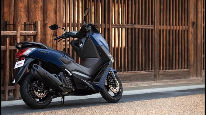 Yamaha NMax 155 warna baru yang dijual di Jepang