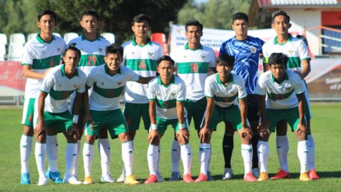 Skuad Timnas Indonesia U-19.