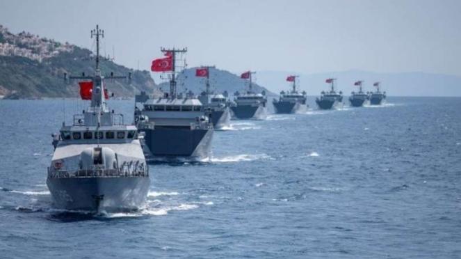 VIVA Militer: Armada tempur Angkatan Laut Turki (TDK) di Laut Mediterania