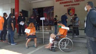 Rekonstruksi kasus mutilasi di Polda Metro Jaya
