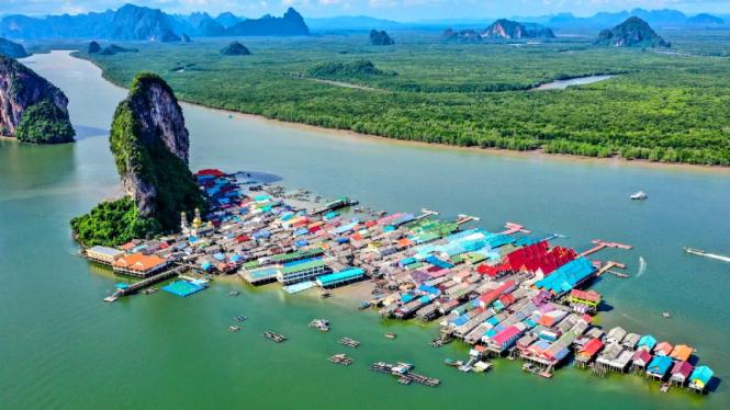 Destinasi wisata di Thailand, pulau Koh Panyee