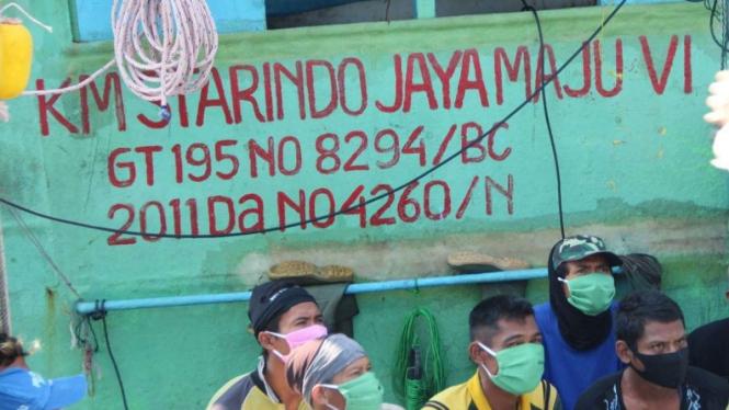 Penemuan jenazah ABK WNI di Kapal KM Startindo Jaya Maju VI.