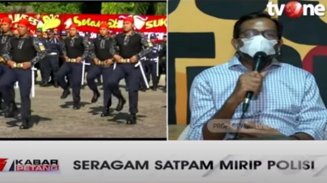 Haris Azhar dalam acara Kabar Petang tvOne