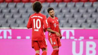 Pemain Bayern Munich, Serge Gnabry dan Leroy Sane.