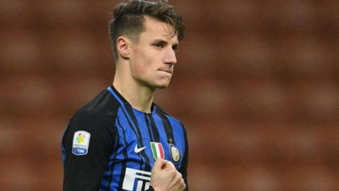 Striker Inter Milan, Andrea Pinamonti.
