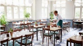 Ilustrasi : keadaan bisnis restoran dikala PSBB