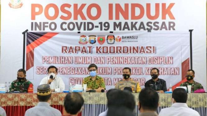 Pj Wali Kota Makassar wacanakan penundaan Pilkada jika mengancam jiwa