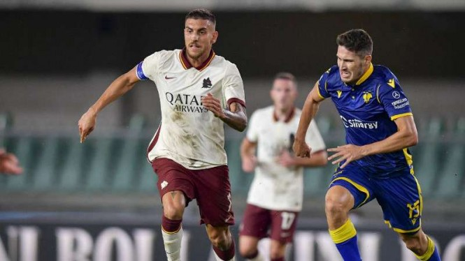 Duel Hellas Verona vs AS Roma.