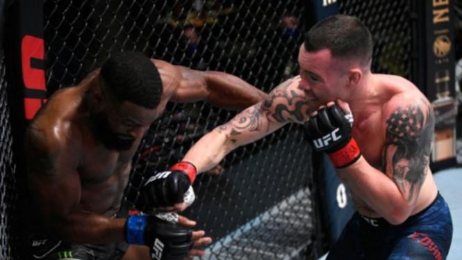 Duel Colby Covington versus Tyron Woodley di UFC Vegas 11