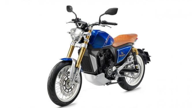 Produk sepeda motor konsep Peugeot P2X