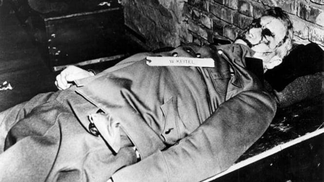 VIVA Militer: Jenazah Jenderal Wilhelm Keitel setelah dihukum gantung
