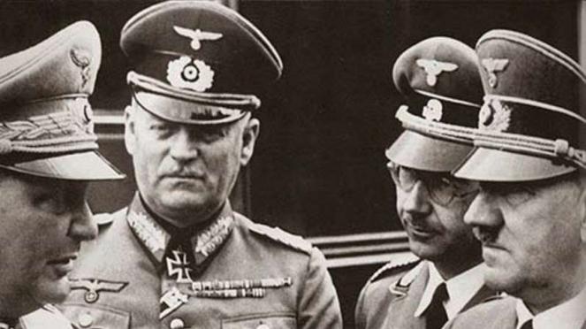 VIVA Militer: Jenderal Wilhelm Keitel (kedua dari kiri)