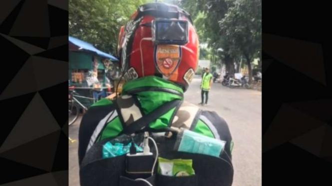 Driver Ojol Bintang Lima.
