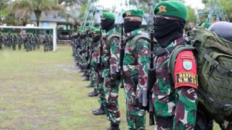 VIVA Militer: Pasukan Batalyon Infanteri 642/Kapuas.