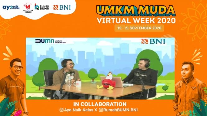 UMKM MUDA Virtual Week dari Bank BNI.