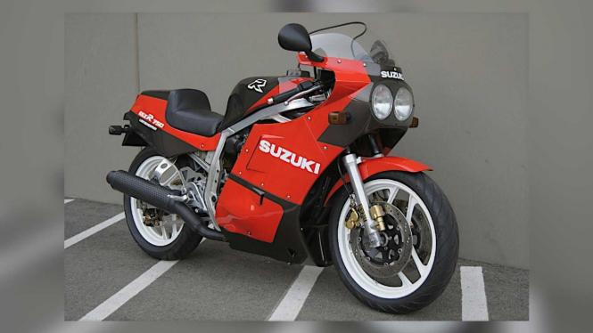 Suzuki GSXR750 dibanderol Rp117,6 juta