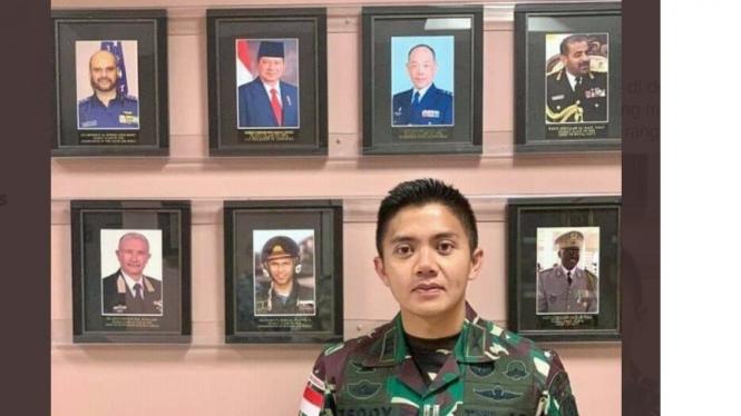 Kapten Inf Teddy Indra Wijaya
