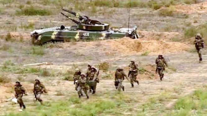 VIVA Militer: Pasukan Angkatan Bersenjata Armenia