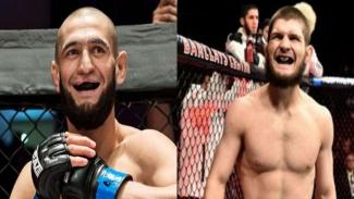 Petarung UFC, Khamzat Chimaev dan Khabib Nurmagomedov