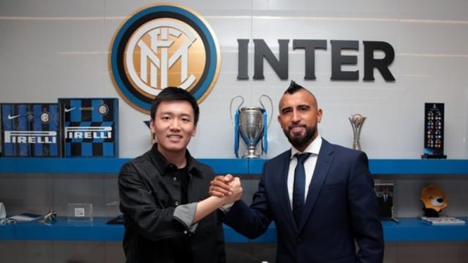 Gelandang Inter Milan, Arturo Vidal