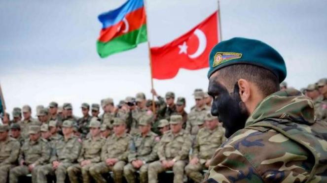 VIVA Militer: Latihan perang gabungan militer Azerbaijan dan Turki
