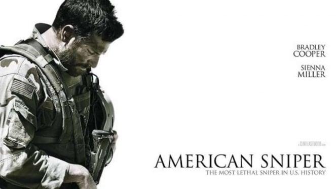 VIVA Militer: Poster film American Sniper (2014) yang dibintangi Bradley Cooper