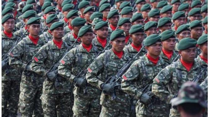 Ilustrasi kegagahan TNI (VIVA)