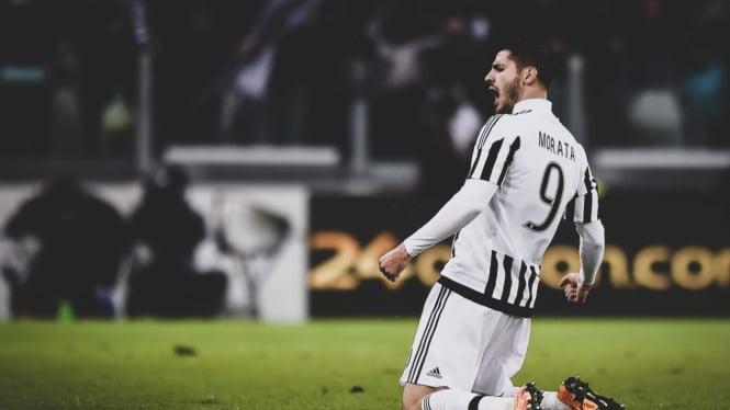 Penyerang Juventus, Alvaro Morata