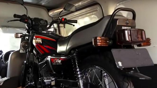 Yamaha RX-King yang ditukar mobil seharga Rp1,5 miliar