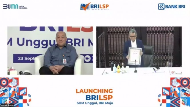 Launching BRILSP dari bank BRI.