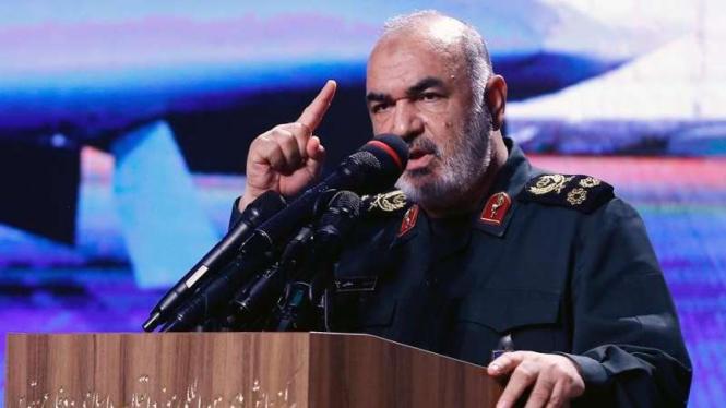 VIVA Militer: Panglima Garda Revolusi Iran (IRGC), Mayor Jenderal Hossein Salami