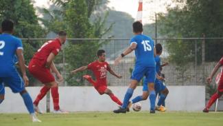Pertandingan uji coba Persija Jakarta vs Bhayangkara FC