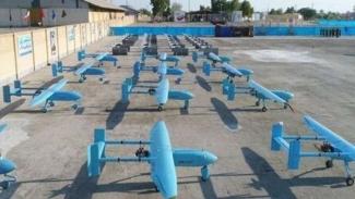 VIVA Militer: Ratusan unit drone terbaru Korps Garda Revolusi Islam Iran (IRGC)