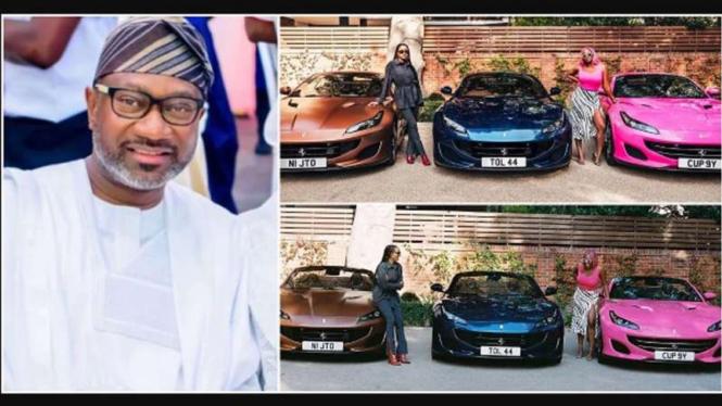 Pengusaha di Nigeria borong tiga unit Ferrari untuk putrinya