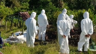 Penguburan jenazah terkonfirmasi positif COVID-19