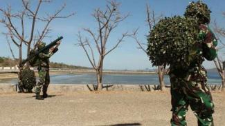 VIVA Militer: Batalyon Marinir Pertahanan Pangkalan (Yonmarhanlan) VII
