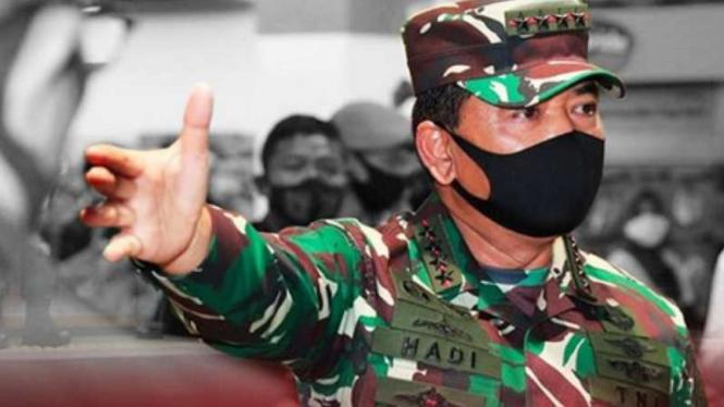 VIVA Militer: Panglima Tentara Nasional Indonesia Marsekal Hadi Tjahjanto