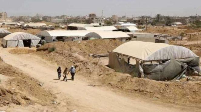 VIVA Militer: Gudang senjata pasukan Hamas Palestina