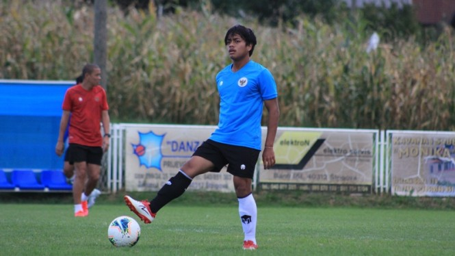 Gelandang Timnas Indonesia U-19, Andre Oktaviansyah