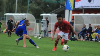 Duel Timnas Indonesia U-19 vs Bosnia-Herzegovina U-19 jilid I