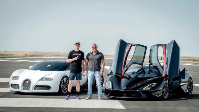 Bugatti Veyron vs SSC Tuatara