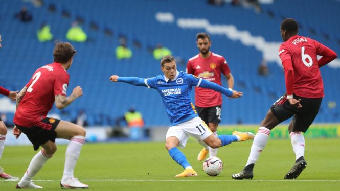 Brighton and Hove Albion vs Manchester United