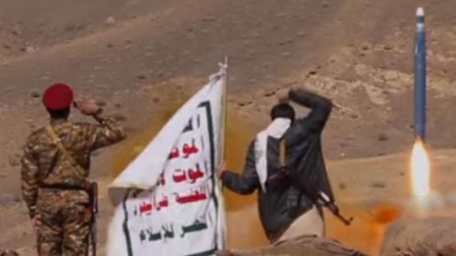 VIVA Militer: Rudal balistik zulfikar milik Yaman.