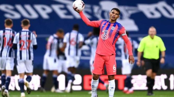 Sesal Thiago Silva usai melakukan blunder di debutnya bersama Chelsea