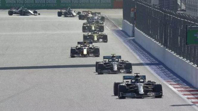 F1 GP Rusia 2020